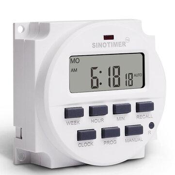 12V 24V 110V 220V Programmable Memory Plant Yard Lamp Timer Automatic Cycle Time Controller