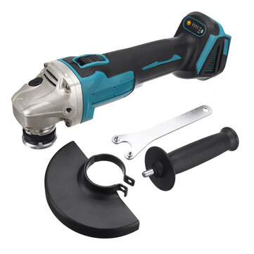 125mm 4 Speed Regulated Angle Grinder Rechargable Li-ion Battery Brushless Electric Grinder Polishing Cutting Machine Adapted To 18V Makita Battery