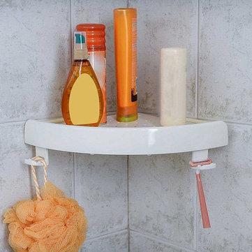 ห้องอาบน้ำ ที่เก็บของในห้องอาบน้ำฝักบัวชั้นวางของตู้แร็กผู้ดูแลห้องอาบน้ำแร็คสีขาว ออ