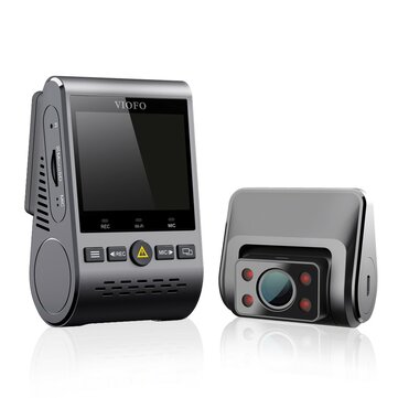 VIOFO A129 IR Duo 5GHz Night Vision Wi-Fi GPS FHD 1080P Front And Interior Dual Buffered Parking Mode Car DVR Camera