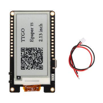 LILYGO® TTGO T5 V2.0 WiFi Wireless Module bluetooth Base ESP-32 ESP32 2.13 ePaper Display Development Board