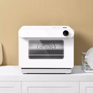 Προσφορά / Κουπόνι για το προϊόν: Xiaomi Mijia Smart Oven 220V 1450W 30L 50 Recipes Mijia APP Remote Control Multiple Cooking Modes with Water Purification Filter for Kitchen με τιμή 274.79€