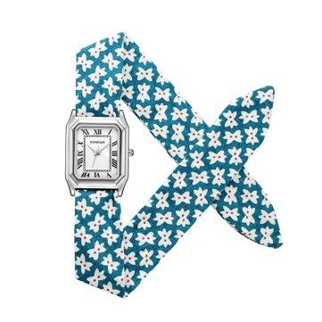 Dây đeo hoa Retro Đồng hồ đeo tay nữ Quà tặng Thạch anh Thạch anh Đồng hồ