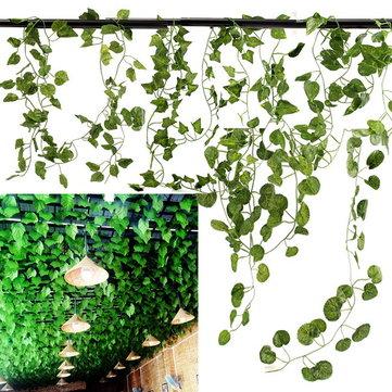 5 Tipos 2.1M 1 UNID Falso Jardín De Seda Artificial Planta Vine Boda Decoración