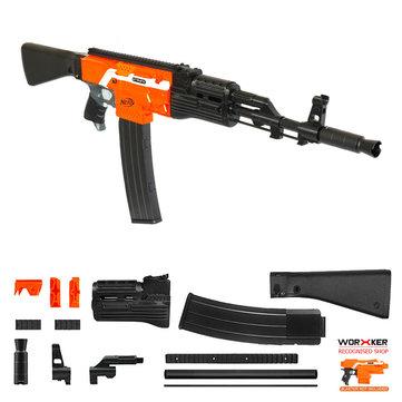 Pekerja MOD F10555 AK47 Imitasi Kit 3D Printing Combo Untuk STRYFE Dimodifikasi Toy Bagian Untuk Nerf