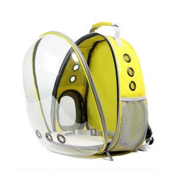 Dog Cat Transparent Space Capsule Breathable Shoulder Bag Pet Outside Travel Portable Carry Backpack