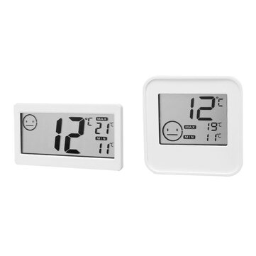 Buy Loskii Home Simple Temperature Hygrometer Indoor Baby Room With High-Precision Thermometer with Litecoins with Free Shipping on Gipsybee.com