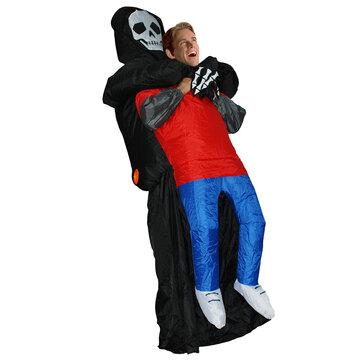 Inflatable Toy Costume Carnival Party Fancy God Of Death Pakaian Untuk Orang Dewasa Gratis Pengiriman