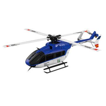 XK K124 6CH Brushless EC145 3D6G Sistem RC Helicopter BNF