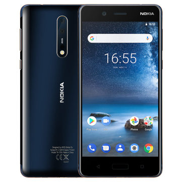 NOKIA 8 Global Version 5.3 inch 6GB 128GB Snapdragon 835 Octa Core 4G Smartphone
