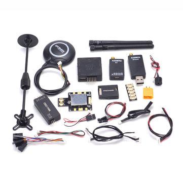 PX4 Pixhawk PIX 2.4.8 32bit Flight Controller 433 Mhz Radio Telemetry M8N GPS +OSD + PM +Buzzer + PPM + I2C