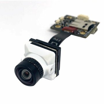 JINJIEAN White Snake 2.1mm/1.8mm Lens 1080P HD With DVR Support 128G Memory Card 4:3/16:9 PAL/NTSC For DIY FPV Racing Drone