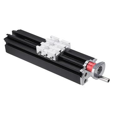 200mm Metal Cross Slide Longitudinal Slide Block Z010M For Lathe Feeding Relieving Axis X/Y/Z