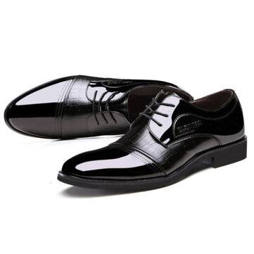 पुरुषों के ऊपर कृत्रिम चमड़ा औपचारिक जूते Soft एकमात्र व्यावसायिक जूते