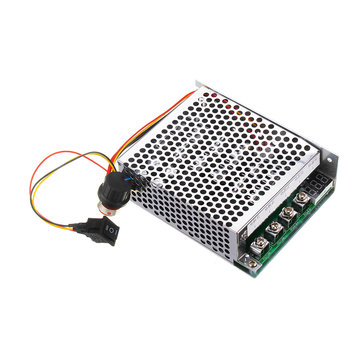 60A DC Brush Motor Speed Controller Forward Reverse PWM Control Pulse Width Speed Digital Display 10-55V/3KW Geekcreit for Arduino - products that work with official Arduino boards