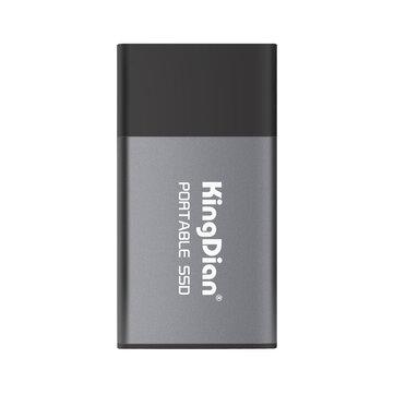KingDian External Hard Drive 500GB 1TB Portable SSD Type-C to...