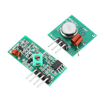 10Pcs 433Mhz RF Transmitter With Receiver Kit For Arduino MCU Wireless