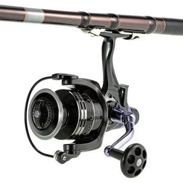 Bobing COONOR 11+1BB Spinning Fishing Reel GT4:7:1 Right/Left Handle Dual Brake System Carp Fishing Tackle Carretilha de pesca