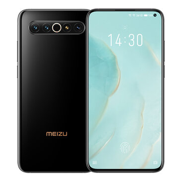 Meizu 17 Pro CN Version 6.67 inch 6.6 Inch 8GB 128GB 64MP Camera 4500mAh 27W Wireless Charge Snapdragon 865 5G Smartphone