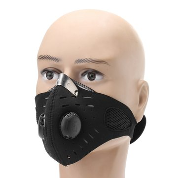 Stainless Masker Setengah Wajah Respirator Masker Gas Debu Perlindungan Filter Respirator