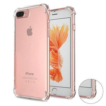 Luftputehjørner Soft TPU Transparent Case For iPhone 7 Plus/8 Plus