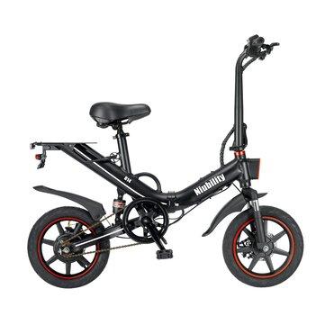 [EU Direct] Niubility B14 15Ah 48V 400W 14 Inches Folding Moped Bicycle 25km/h Top Speed 100KM Mileage Range Electric Bike Ebike