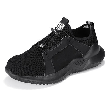 Steel Toe Lightweight Soft Sole Puncture Proof Safety Shoes