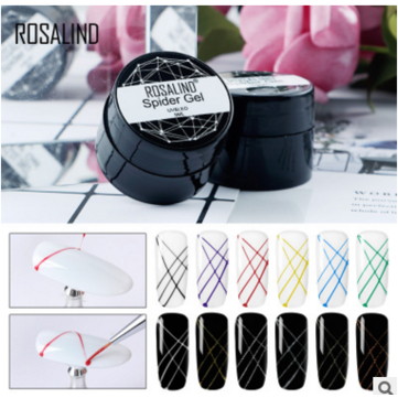 Buy ROSALIND Gel Spider Line For Nails Art Gel Polish UV Gel Colors Painting Gel Nail Polish Spider Gel Lacquer with Litecoins with Free Shipping on Gipsybee.com