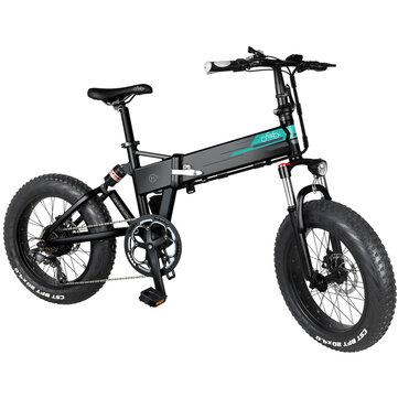 Rower elektryczny FIIDO M1 12.5Ah 36V 250W z EU za $949.99 / ~3658zł