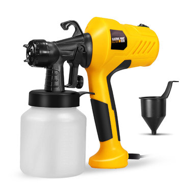 HILDA 220V 400W Electric Paint Sprayer Spray Painting Tool with Adjustment Knob For DIY Furniture Woodworking