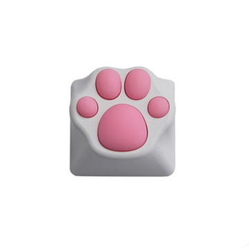 Cat Claw Keycap PBT Cherry Blossom Keycap för mekaniskt tangentbord rosa svart