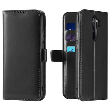 DUX DUCIS KADO Xiaomi Redmi Note 8 Pro Flip Cover Multi-card slot With Stand Shockproof Full Body Protective Case