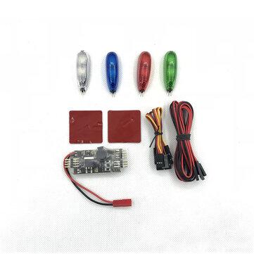 URUAV SL01 2S-6S Night Flight LED Light Strip Controller W/ 5V/12V Control Board Module Set For RC Airplane FPV Racer Drone
