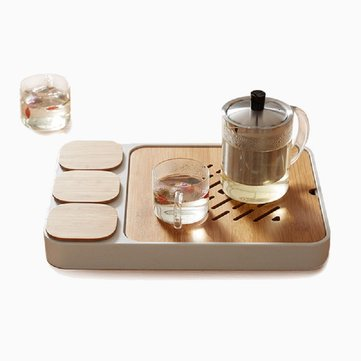 Buy CHENGSHE Small Tea Tray Kung Fu Tea Set Water Storage Design from with 8 on Gipsybee.com