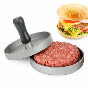 XYJ CCFG5096 Round Hamburger Press Non-Stick 11cm Meat Press Hamburger Meat Beef BBQ Grill Burger Press Patty Maker Mold for sale in Litecoin with Fast and Free Shipping on Gipsybee.com