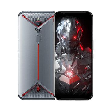 ZTE Nubia Red Magic 3S 6.65 Polegadas FHD + 90Hz Android 9.0 5000mAh 8GB RAM 128GB ROM Snapdragon 855 Plus Octa Core 2.96GHz 4G Gaming Smartphone