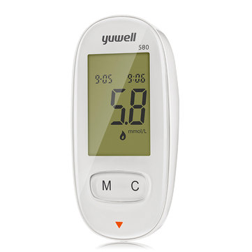 Yuwell XTY580 Blood Glucose Meter Diabetic Blood Sugar Detection Glucose Meter Household Health Care Monitors Tool