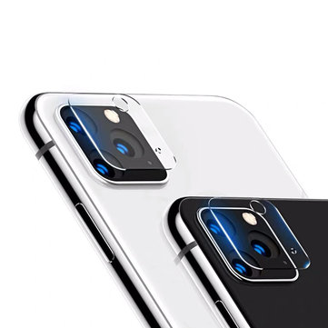 Bakeey 2 STK Anti-scratch HD Clear Soft herdet glasstelefonkamera linsebeskytter for iPhone 11 Pro Max 6,5 tommer