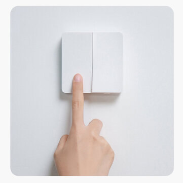 [New Arrival] Xiaomi Mijia Smart Switch Wall Switch Single/Doubl/Three Open Dual Control Switch 2 Modes Switch Over Intelligent Lamp Lights Switch