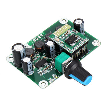 Bluetooth 4.2 TPA3110 30W+30W Digital Stereo Audio Power Amplifier Board Module 12V-24V Car for USB Speaker Portable Speaker