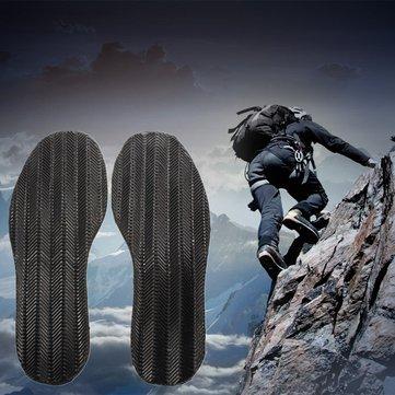 DIY DIY Cặp chống trượt Grip-miếng đệm cao su Keo trên đế Giày sửa chữa giày màu đen