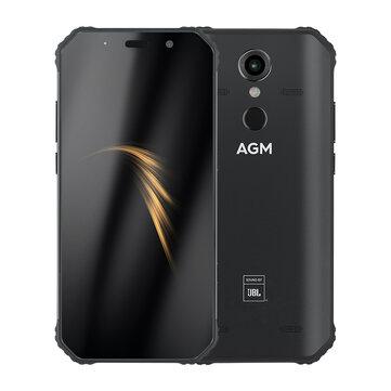 AGM A9 5.99 inch 5400mAh 16MP Front Camera NFC IP68 Waterproof 4GB 32GB Snapdragon 450 Octa Core 4G Smartphone