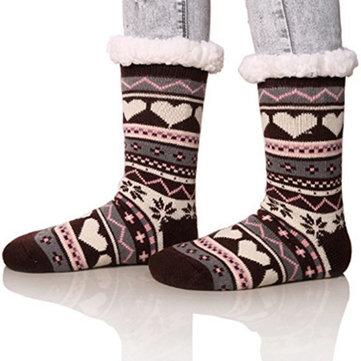 How can I buy Christmas Jacquard And Velvet Anti-ski Socks Thickening Lambskin Knit Socks with Bitcoin