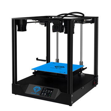 TWO TREES� Sapphire Pro CoreXY DIY 3D Printer Kit 235*235*235mm Printing Size With Dual Drive BMG Extruder / X-axis&Y-axis Linear Guide / Power Resume / Filament Detect / Intelligent Leveling Funciton