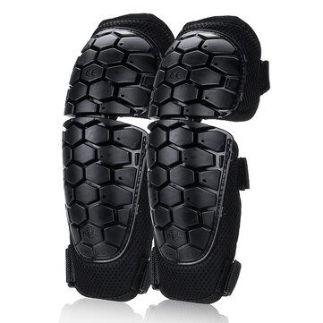 Motorcycle Knee Elbow Shin Pad Guards Brace Riding Skiing Protector Gear