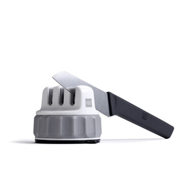 HUOHOU Fixable Sharpen Stone Trible Wheel Whetstone Sharpeners Sharpening Tool Grindstone From Xiaomi Youpin