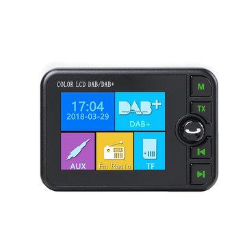 Car DAB/DAB+ Receiver Digital Radio Adapter bluetooth FM Hands-free AUX USBCar Audio & MonitorfromAutomobiles & Motorcycleson banggood.com