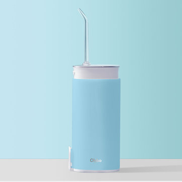 Olybo Scalable Portable Oral Irrigator USB Charging High Frequency Pulsed Water Flosser Tooth Flusher IPX7 Waterproof Removable Tank From Xiaomi Ecosystem