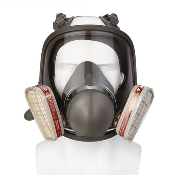 For 3m 6800 Full Face Gas Mask Facepiece Respirator Painting Industrial Guard