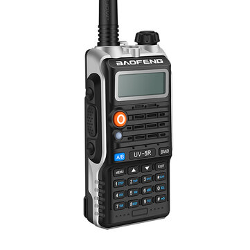 $24.99 for BAOFENG UV-5R 9 Gen 8W Dual Band Flashlight Radio Walkie Talkie